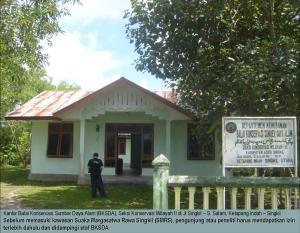 1 BKSDA Office at Singkil